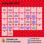 Calendari de juny del 2015