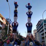 Rebuda de la Flama del Canigó al Prat amb les entitats de cultura popular